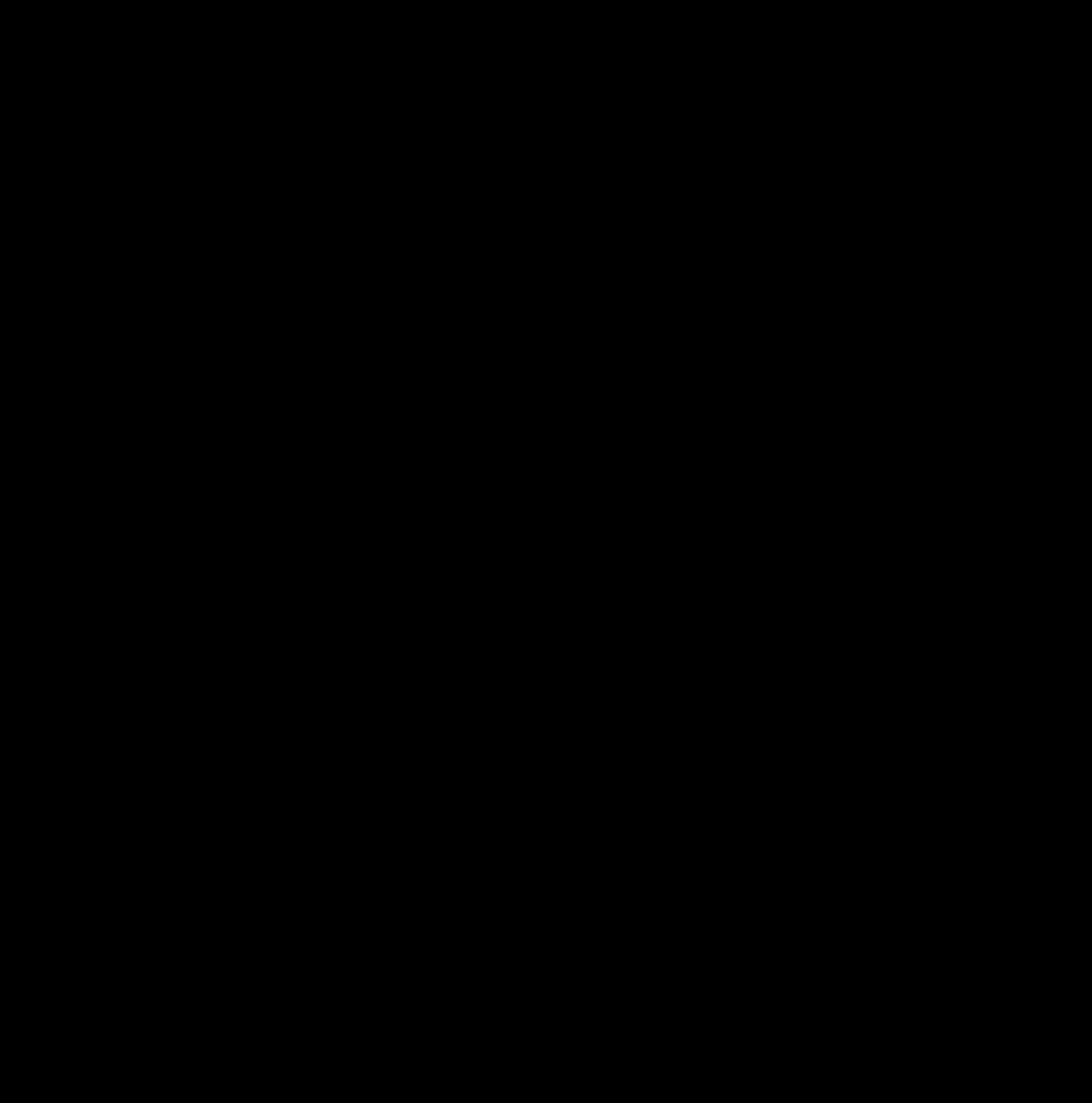 ト音記号(2種)のイラスト / Treble clef (2 types) Illustration
