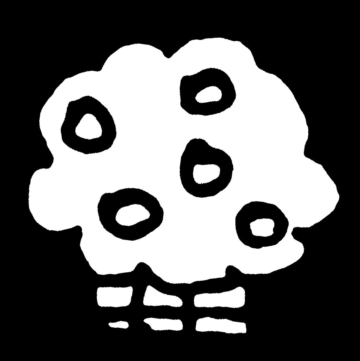 右近の橘(ひな人形お道具)のイラスト / Ukon no Tachibana (Hina Doll Tools) Illustration