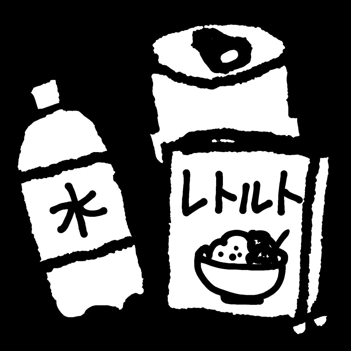 保存食のイラスト / Preserved foods Illustration